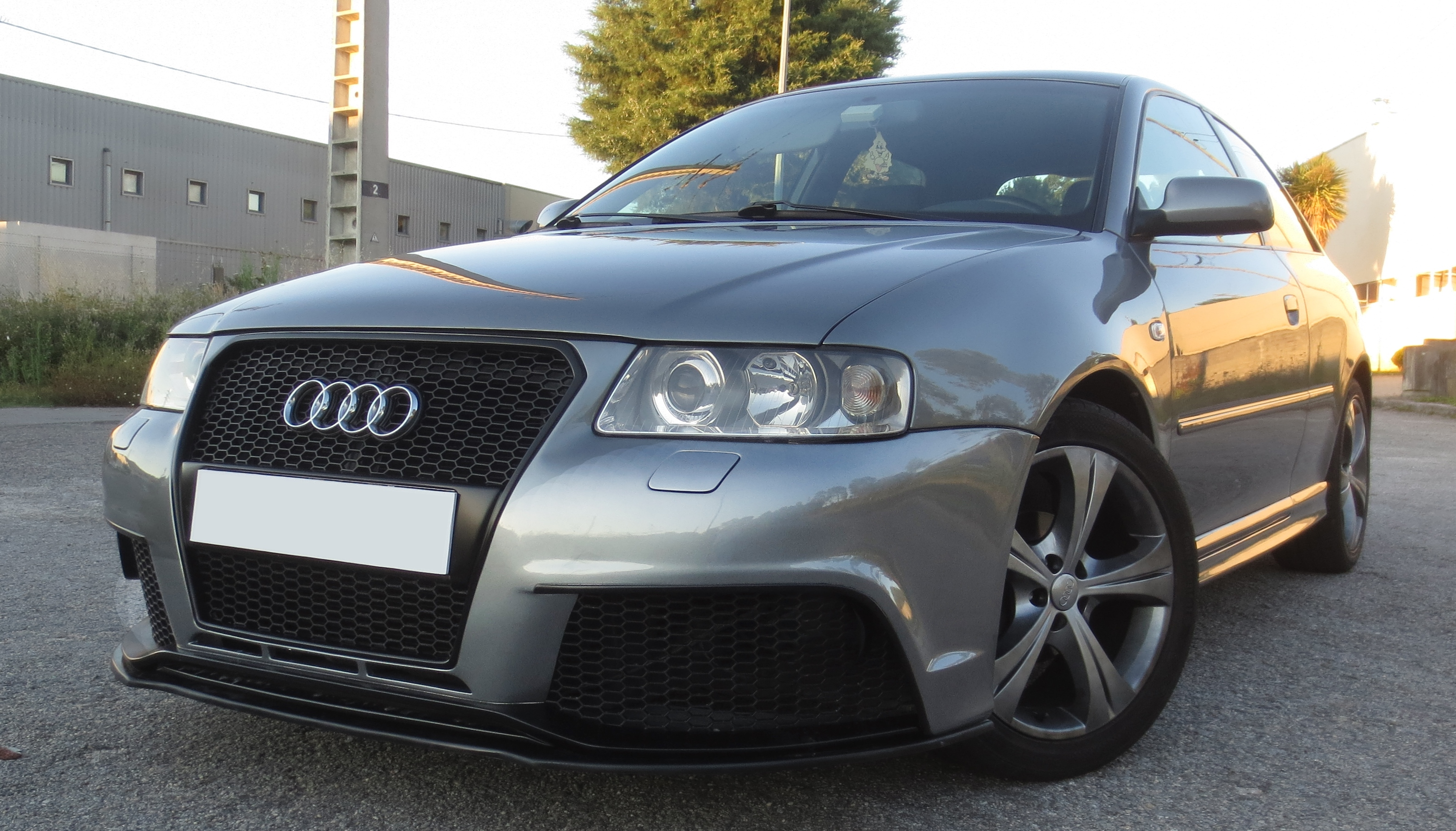Front Bumper Audi A3 8l Rs3 Look Fr Bodystyling
