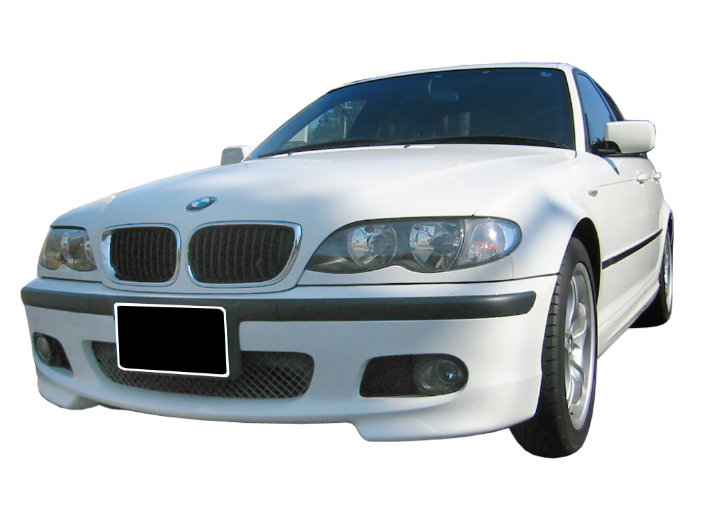 Front Bumper Bmw 3 Series E46 Pack M Look