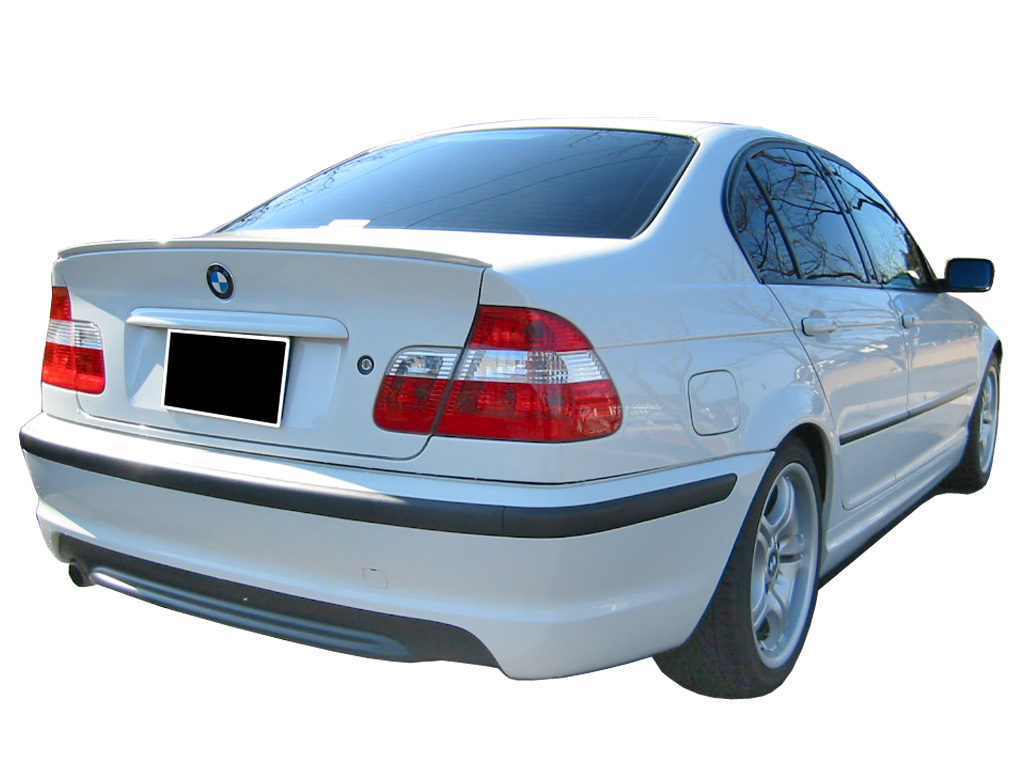 Rear Bumper Bmw 3 Series E46 Pack M Look