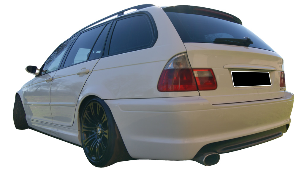Rear Bumper Bmw 3 Series E46 Touring Pack M Look