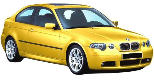 Front Bumper Bmw 3 Series E46 Compact 2001 Pack M Look Fr Bodystyling
