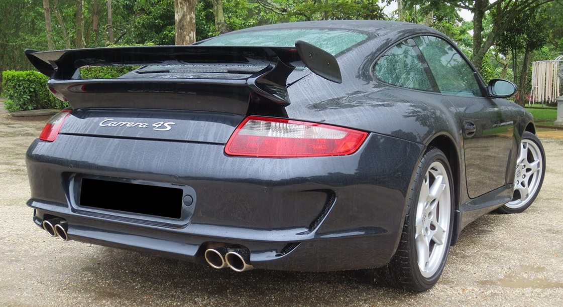 Rear Bumper Porsche 911 997 Gt3 Look Fr Bodystyling